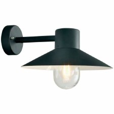 Elstead Lund Outdoor Wall Light Black