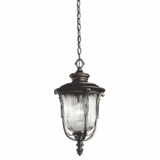 Kichler Luverne Chain Lantern Rubbed Bronze