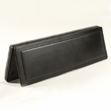 Magnetic Internal Letter Box Flap Black 341mm