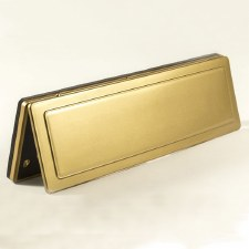 Magnetic Internal Letter Flap MK1 Brass Effect