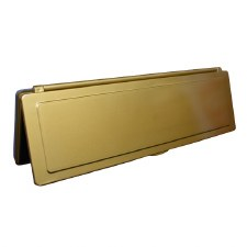 Magnetic Internal Letter Flap MK2 Brass Effect