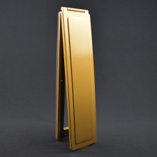 Magnetic Vertical Internal Letter Flap - Brass Effect