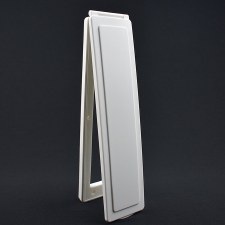 Magnetic Vertical Internal Letter Flap - White