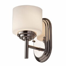 Feiss Malbu Bathroom Single Wall Light Polished Chrome