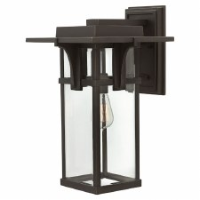 Hinkley Manhattan Large Wall Lantern Oil Rubbed Bronze