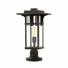 Hinkley Manhattan Pedestal Light Oil Rubbed Bronze