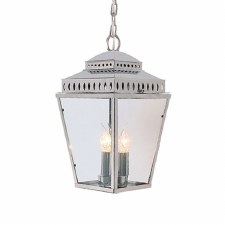Elstead Mansion House Chain Lantern Polished Nickel