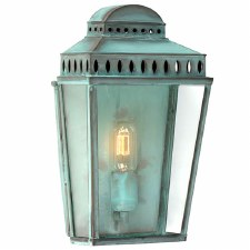 Elstead Mansion House Flush Outdoor Lantern Verdigris