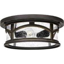 Quoizel Marblehead Flush Ceiling Light