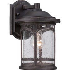 Quoizel Marblehead Outdoor Wall Lantern Small Palladian Bronze