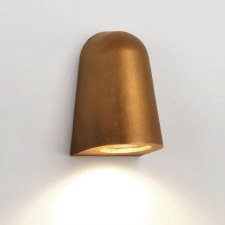 Mast Wall Light Coastal Range Antique Brass