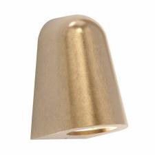 Mast Coastal Wall Light Brass