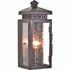 Elstead Matlock Flush Outdoor Wall Light Lantern