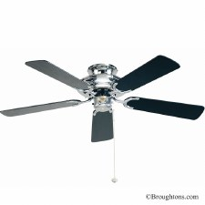 "Fantasia Mayfair 42"" Ceiling Fan Chrome"