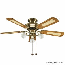 "Fantasia Mayfair 42"" Ceiling Fan with Lights"