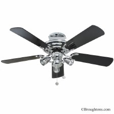 """Fantasia Mayfair 42"""" Ceiling Fan with Lights"""