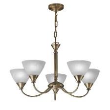 Mercian Ceiling Light 5 Lights Brushed Bronze