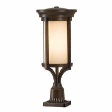 Feiss Merrill Pedestal Light Heritage Bronze