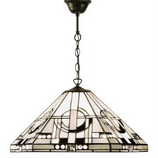 Interiors 1900 Metropolitan Tiffany Ceiling Light Pendant