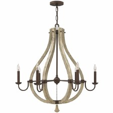 Hinkley Middlefield 6 Light Chandelier