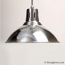 Milan Ceiling Pendant Light Aluminium