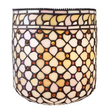 Interiors 1900 Mille Feux Tiffany Wall Light