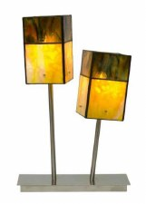 Modern Tiffany DoubleTable Lamp