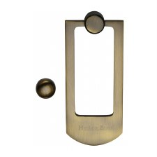 Heritage K1320 Modern Door Knocker Antique Brass