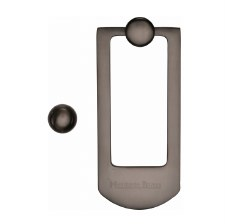 Heritage K1320 Modern Door Knocker Matt Bronze