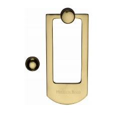 Heritage K1320 Modern Door Knocker Polished Brass