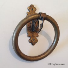 Monza Towel Ring Small Antique Brass