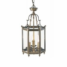 Moorgate Hall Lantern Antique Brass