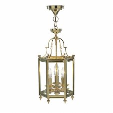 Moorgate Hall Lantern Polished Brass