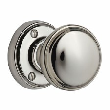 Victorian 603/1 Door Knobs Polished Chrome