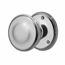 Victorian 603/2 Door Knobs Polished Chrome