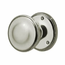 Victorian 603/2 Door Knobs Polished Nickel