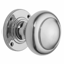 "Croft 6344 3"" Round Door Knobs Polished Chrome"