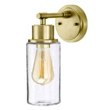 Elstead Morvah Bathroom Wall Light Brushed Brass