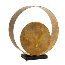 Mudeford Patina Table Lamp Gold