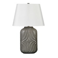 Elstead Muse Table Lamp Grey