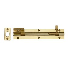 "Heritage Wide Necked Bolt C1592 6"" Polished Brass"