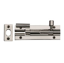 "Heritage Wide Necked Bolt C1592 4"" Polished Nickel"