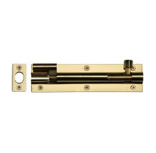 "Heritage Wide Necked Bolt C1594 6"" Polished Brass"
