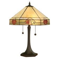 Interiors 1900 Nevada Tiffany Large Table Lamp