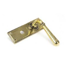 From The Anvil Newbury Lever Bathroom Set Aged Brass