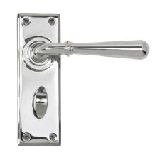 From The Anvil Newbury Lever Bathroom Set Polished Chrome