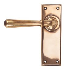 From The Anvil Newbury Lever Latch Set Polished Bronze