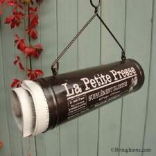 La Petite Newspaper Holder