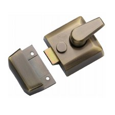 Heritage Nightlatch NL3040-AT Antique Brass