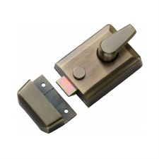 Heritage Nightlatch NL3060-AT Antique Brass